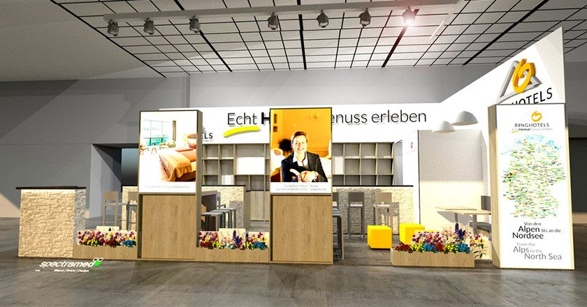 Ringhotels Messestand ITB