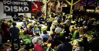 Schnippeldisko Slow Food
