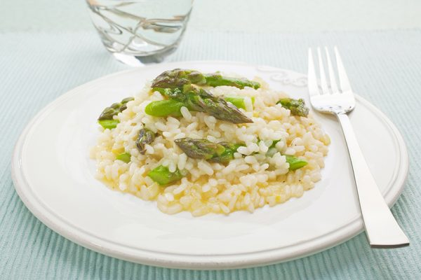 Spargel Risotto